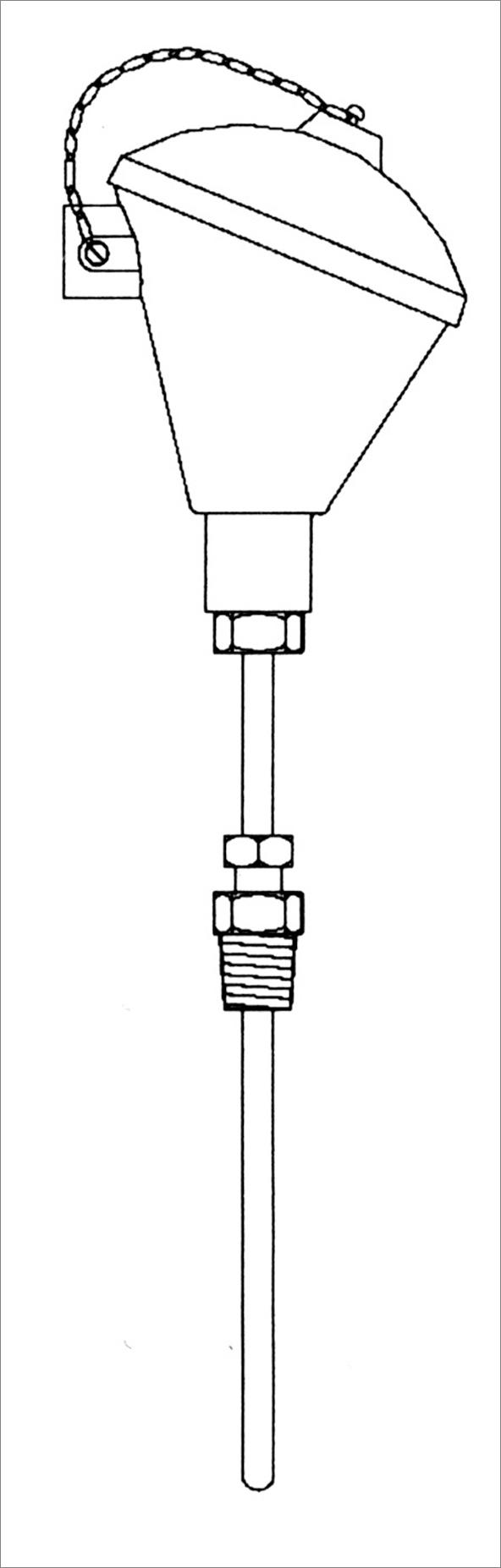 גשש RTD מסוג 00 תקן