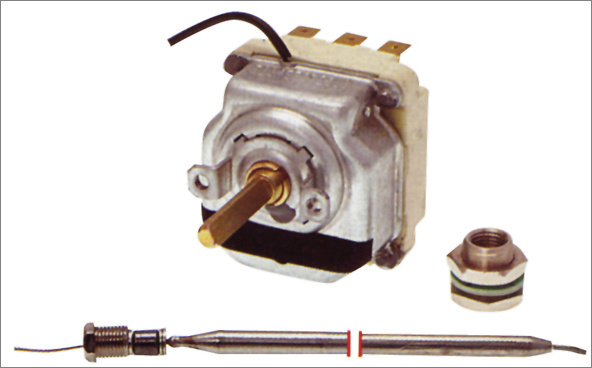 תרמוסטט 3x16A 3PH 60-200°c